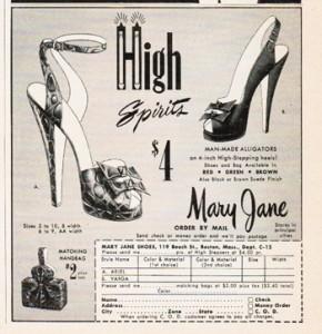1940 Ankle Stap Heels