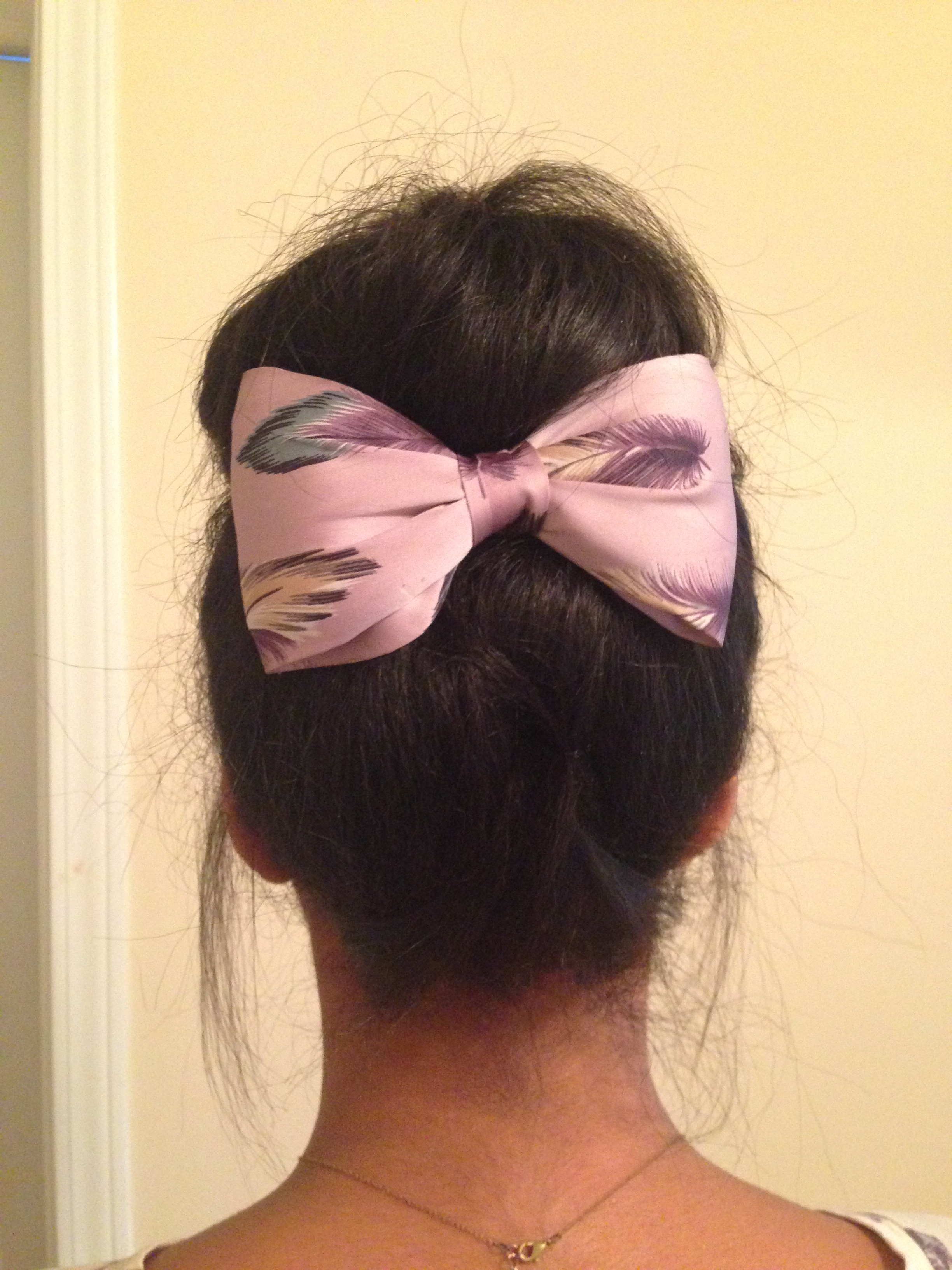 Accessorize your top knot