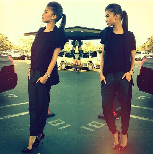 Zendaya black chic