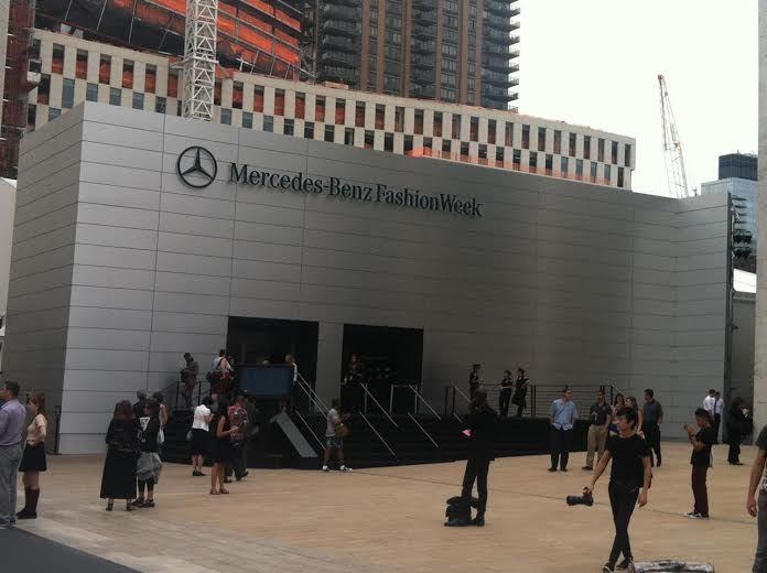 Mercedes Benz Fashion Week at Lincoln Center