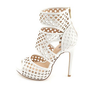 Laser Cut Heels: Charlotte Russe