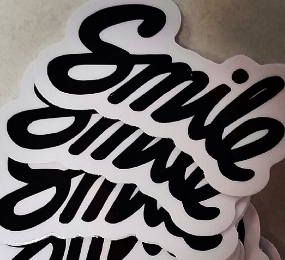 The Smile Brand Stickers